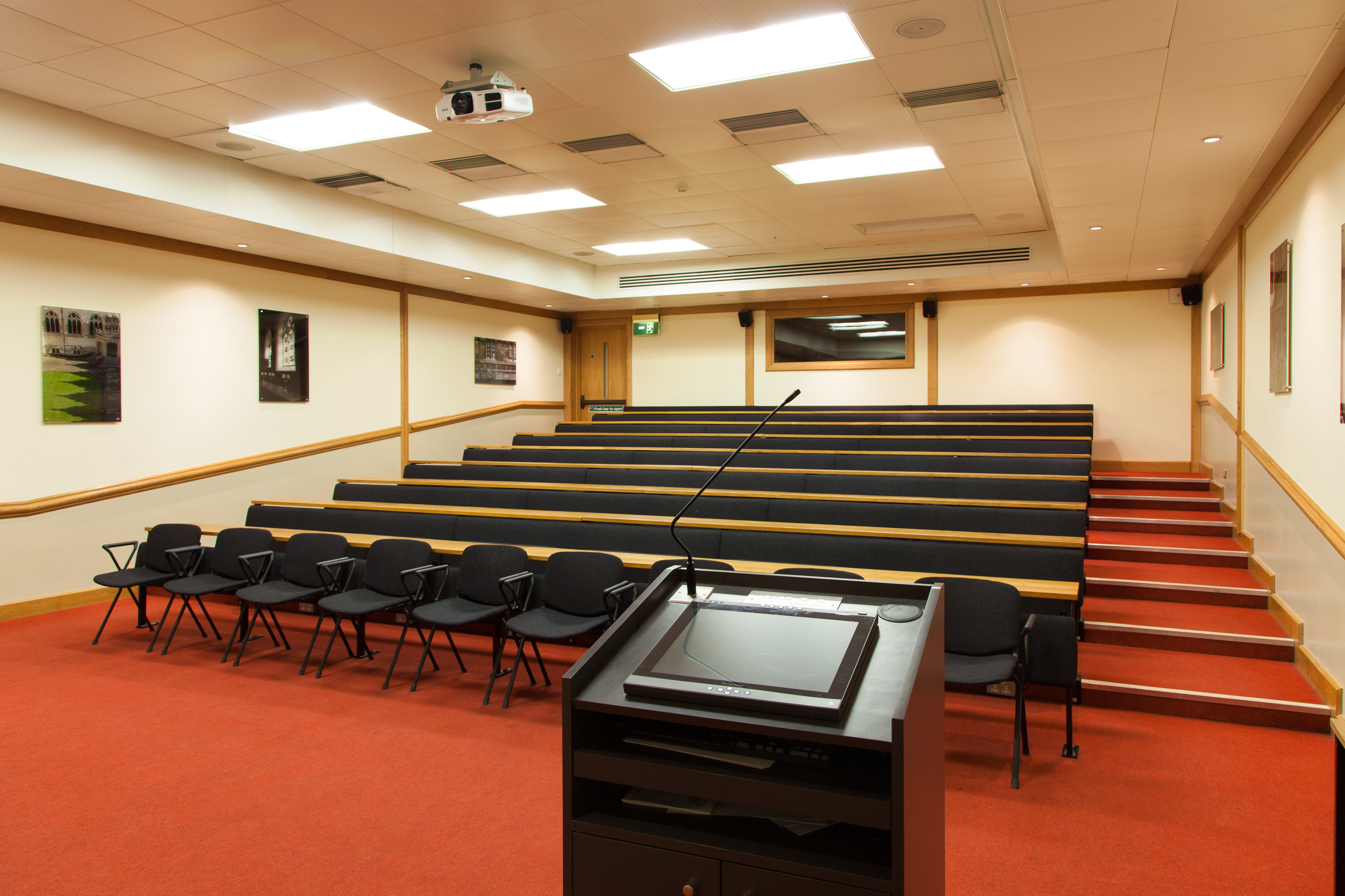Booking A Lecture Theatre In Living Room