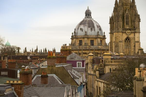View over the Radcliffe Camera