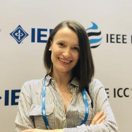 Arta Cika at the IEEE Conference