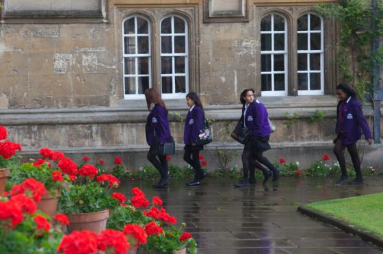Photo of an exploring Oxford day
