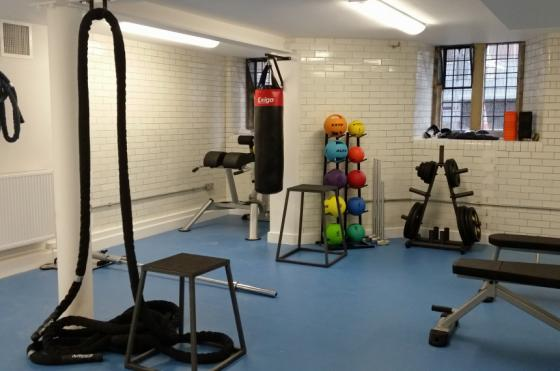 One of Oriel's gyms