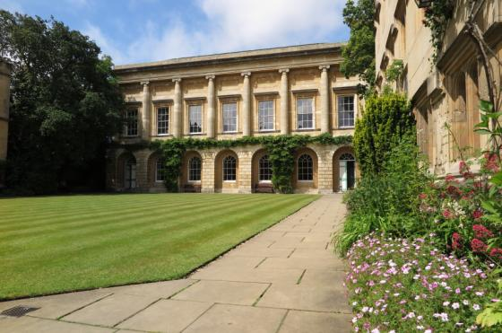 Oriel College Senior Library