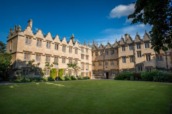Oriel College Second Quad by John Cairns