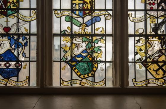 A Window in Oriel College Hall by John Cairns