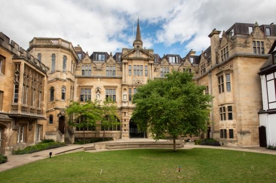 Oriel College Third Quad, by John Cairns