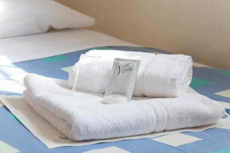 Image of folded towels
