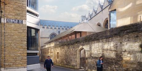 Oriel College Brewhouse Yard Project - Allies and Morrison
