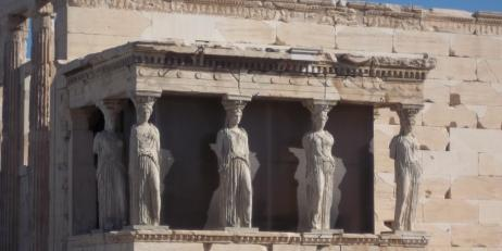 Image of the Parthenon in Greece