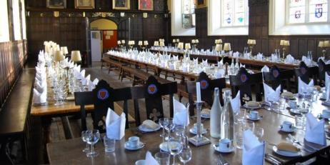 Oriel College Dining Hall