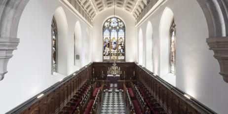 Oriel College Chapel by Marcus Peel