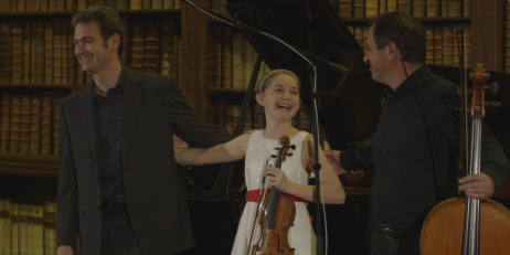 Alma Deutscher in Concert at Oriel College (courtesy of BBC)
