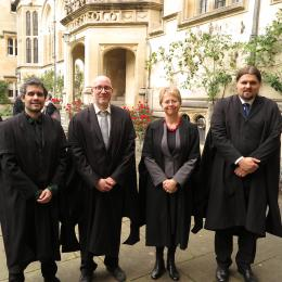 Oriel College New Fellows