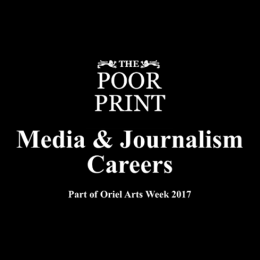 The Poor Print Media and Journalism Careers Event