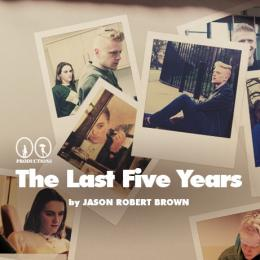 The Last 5 Years Advert showing cast members in a musical