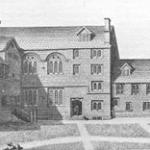 Loggan St Mary Hall engraving